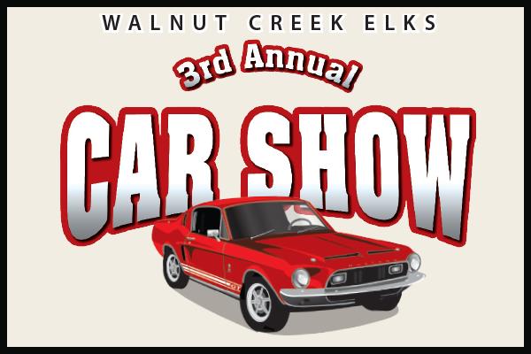 Walnut Creek Elks Car Show
