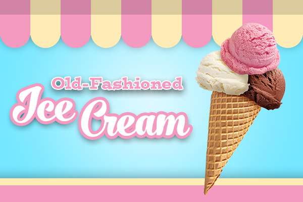 Old-Fashioned Ice Cream