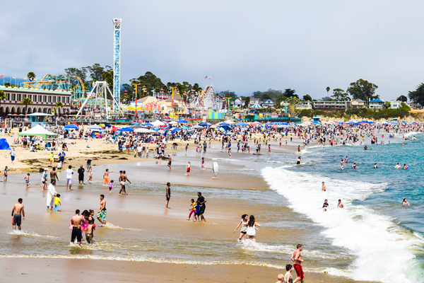 Soak Up Summer At The Santa Cruz Beach Boardwalk Your Town Monthly
