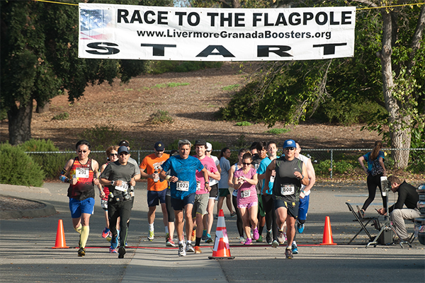 Livermore Race to the Flagpole