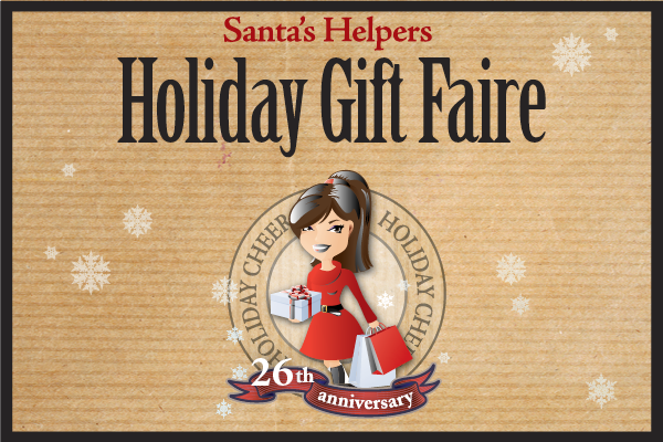 Santa 39 s helpers holiday gift faire your town monthly for Holiday craft fair napa ca