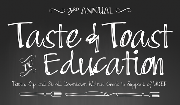 Taste & Toast to Education