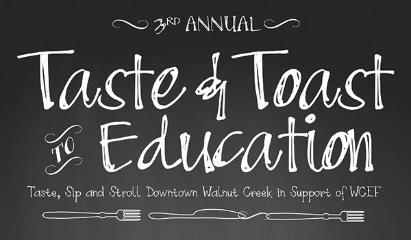 Taste & Toast to Education