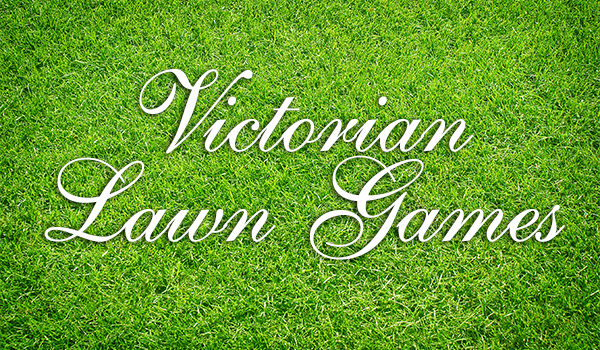 Victorian lawn games