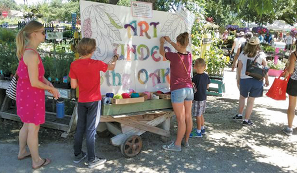 Art Under the Oaks