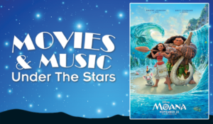 Movies and Music Under the Stars